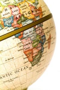 Globus - Südafrika