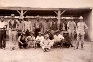 Afrikaner und britischer Offizier