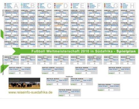 Spielplan wm 2010